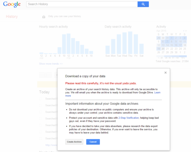 google search download