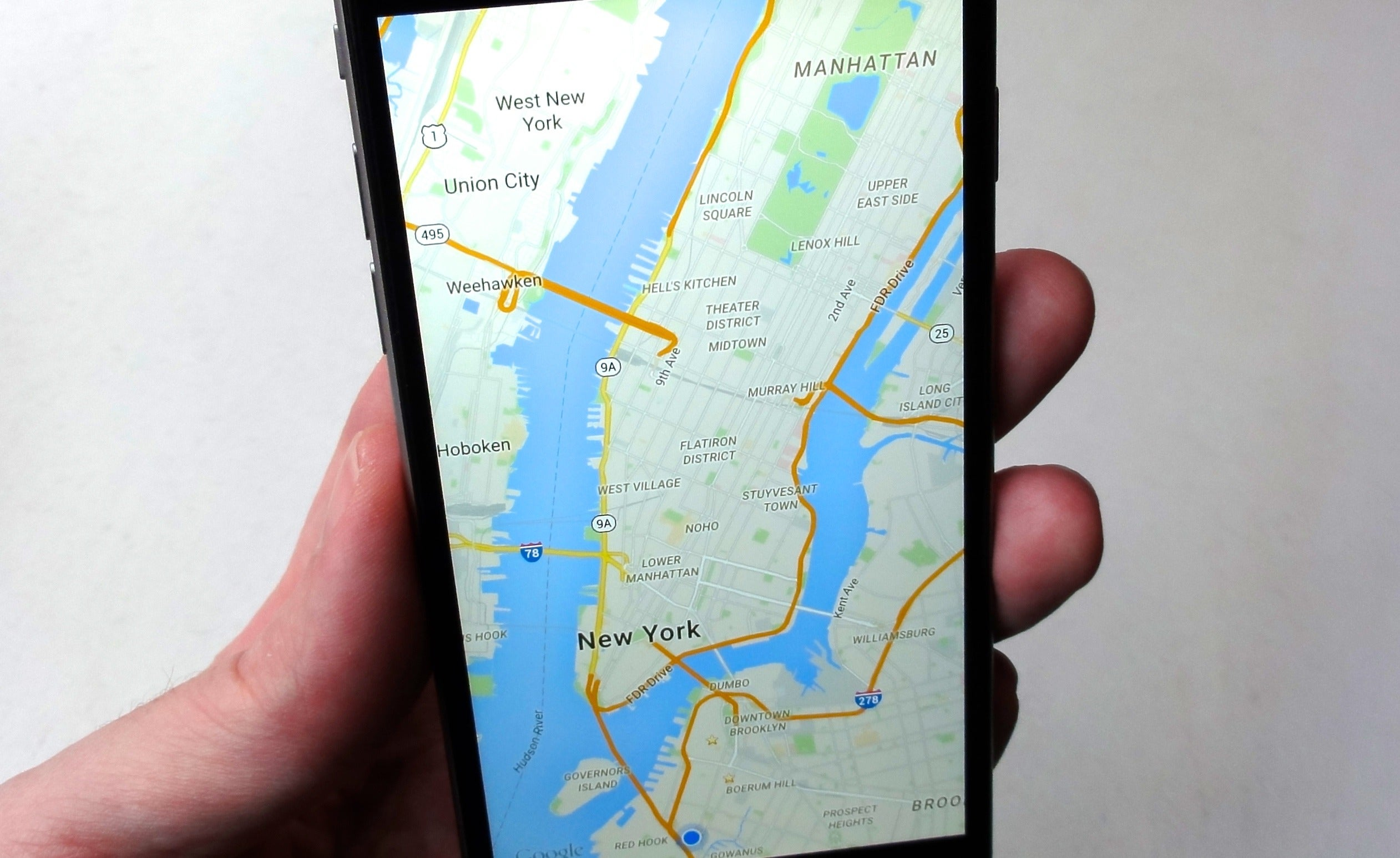 Great Google Maps Tips For Android And IOS PCWorld - Nyc map google maps