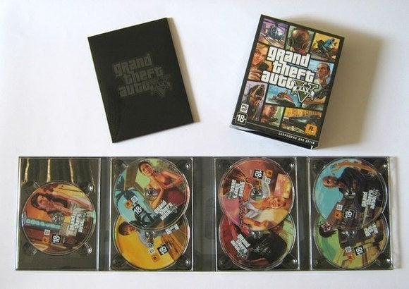 GTA V PC Discs