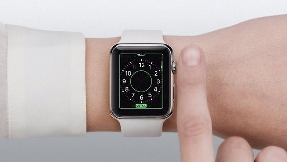 how to change apple watch face digital crown