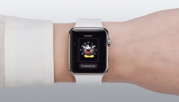 Apple Watch Customize button