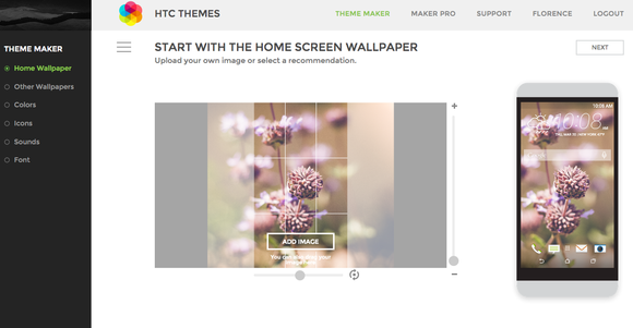 htc themes online