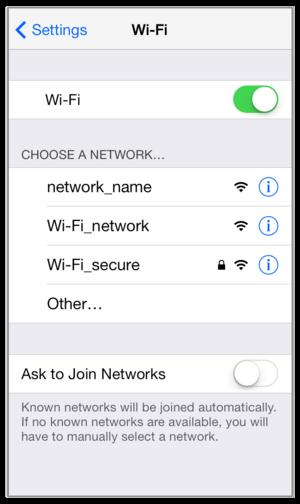 ios wifi