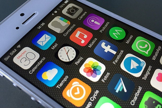 iphone6 iOS8 apps