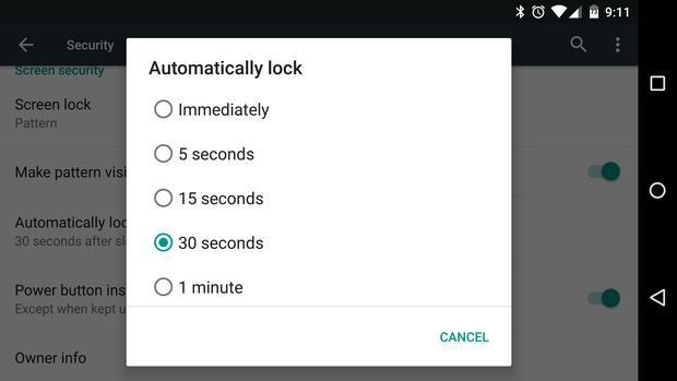 killer android features 11timeout