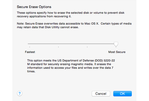 mac 911 secure erase options 580