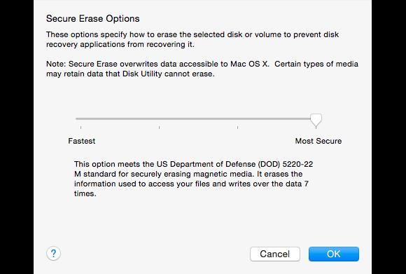 mac 911 opciones de borrado seguro 580