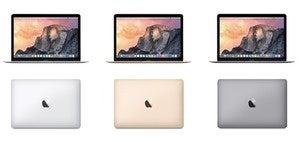 MacBook en trois couleurs