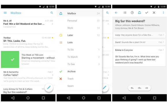 mailbox android material