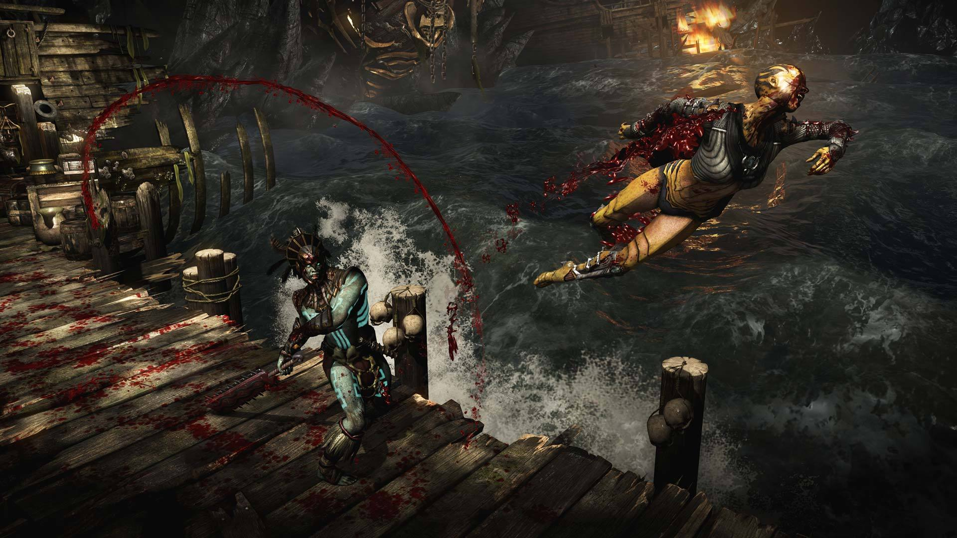 Mortal Kombat X Review Almost Flawless Victory Pcworld