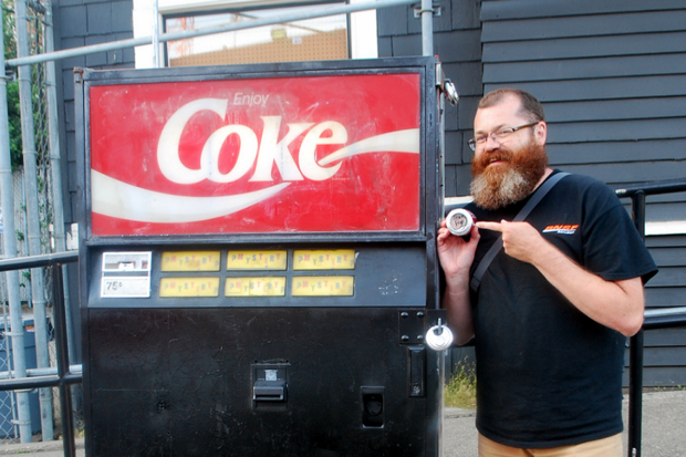 mystery coke machine
