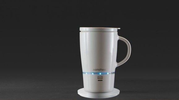 This Self Heating Coffee Mug Operates Wirelessly Techhive