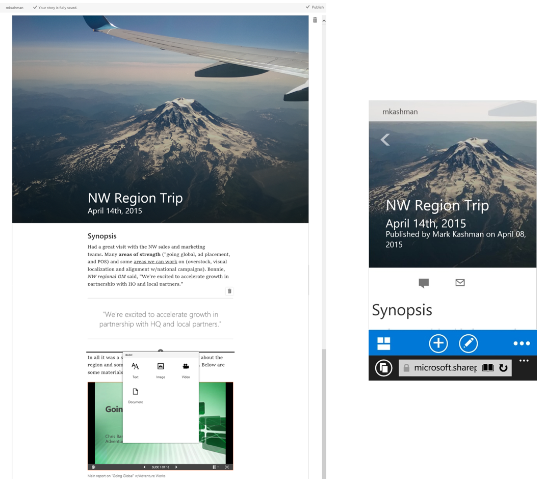 A revamped Microsoft Delve looks like a corporate mashup of Facebook and LinkedIn