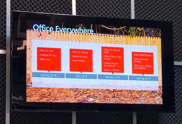 microsoft office everywhere slide