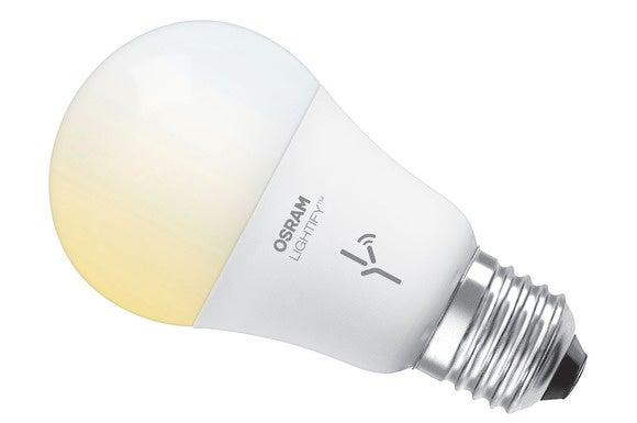 osram lightify review this white only led bulb is solid. Black Bedroom Furniture Sets. Home Design Ideas