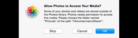 photos asks permission