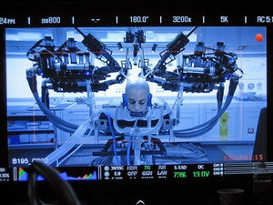 Raven II surgical robot in Ender's Game