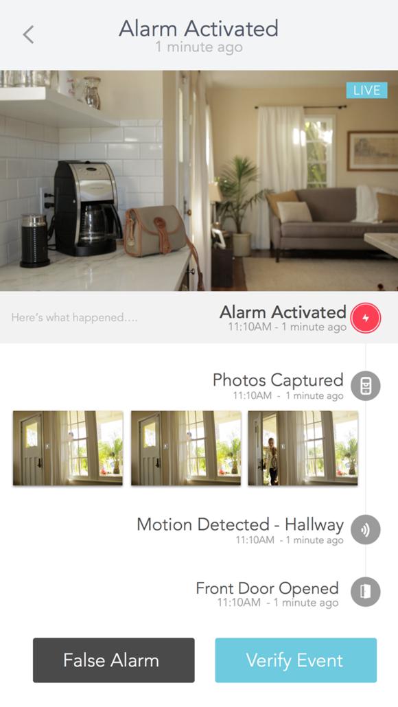 Abode alarm