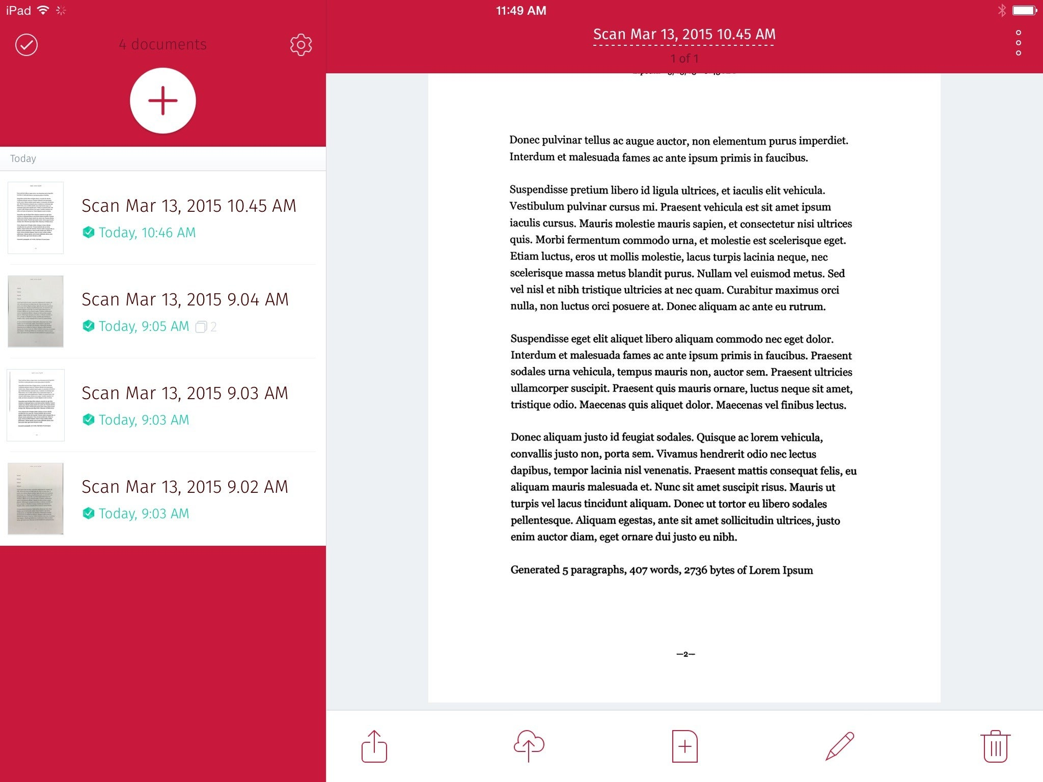 Take the hassle out of scanning documents macworld scanbot 371 for ipad reheart Image collections