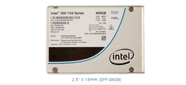 750 Series SSD in 2.5-in form factor