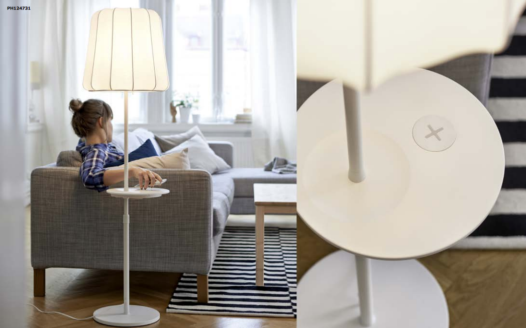 ikea releases its line of wireless charging furniture. Black Bedroom Furniture Sets. Home Design Ideas