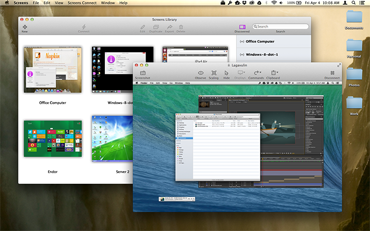 Screens Vnc For Mac Os