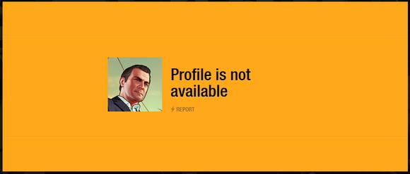 GTA V Profile Error