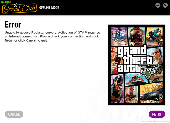 GTA V PC Always Online