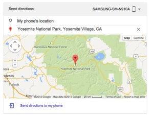 send directions google