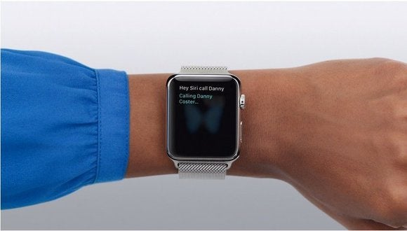 Using Siri to make calls on the Apple Watch