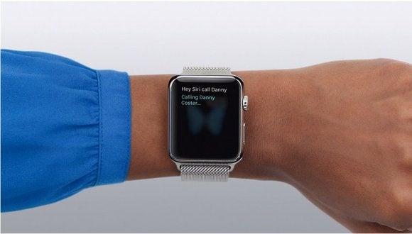 Using Siri to make calls on the Apple Watch