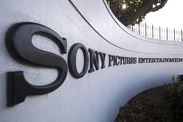 sony pictures sign