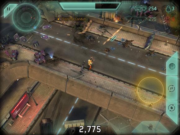 spartan strike gameplay