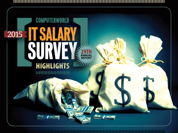 Computerworld: IT Salary Survey 2015 [cover slide]