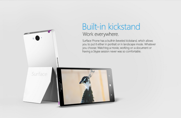 This fake Microsoft Surface phone is the flagship Windows Phone we