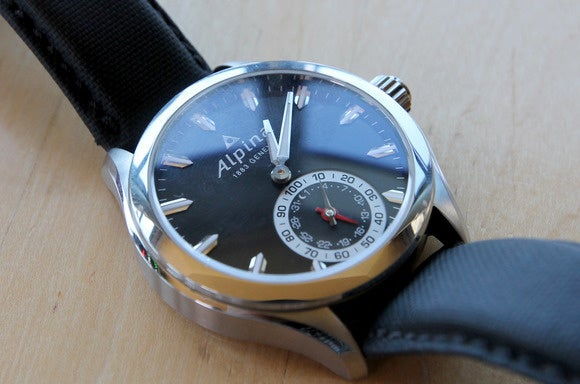 swiss smartwatch alpina close up