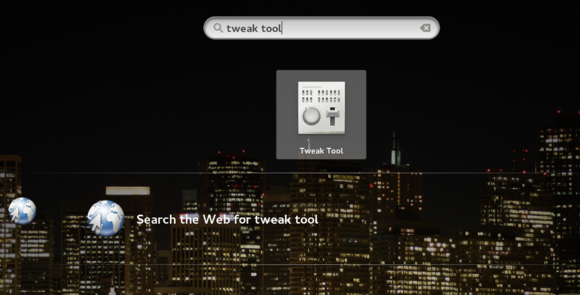 tweak tool search
