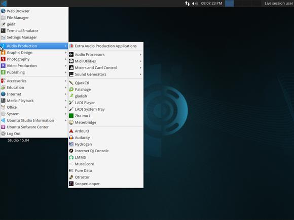 ubuntu studio 15