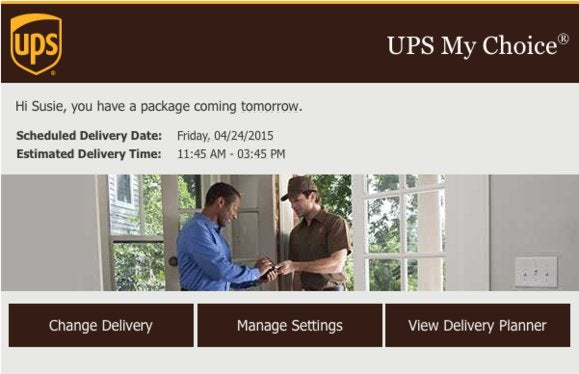 How to get your Apple Watch tracking number from UPS My Choice