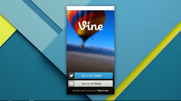 vine app for chrome os