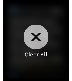 watch clear all notifications