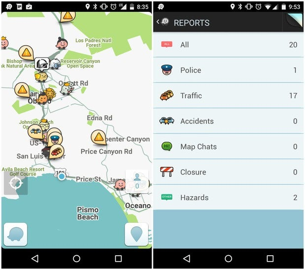 Beat the traffic and find cheaper gas with the best Android