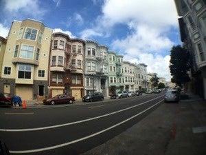 wide street