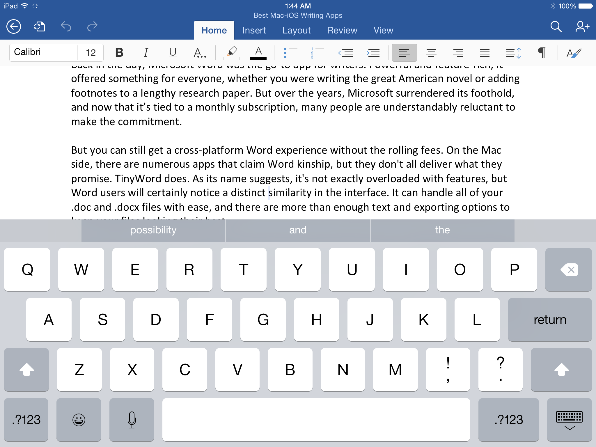 The Best Cross Platform Writing Apps For Mac And Ios