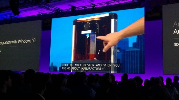 Windows 10 Autodesk spark 3d printer