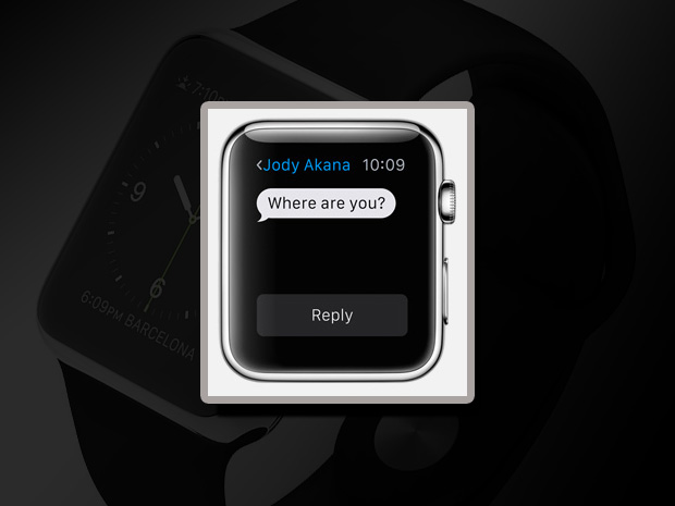 10 apple watch messages