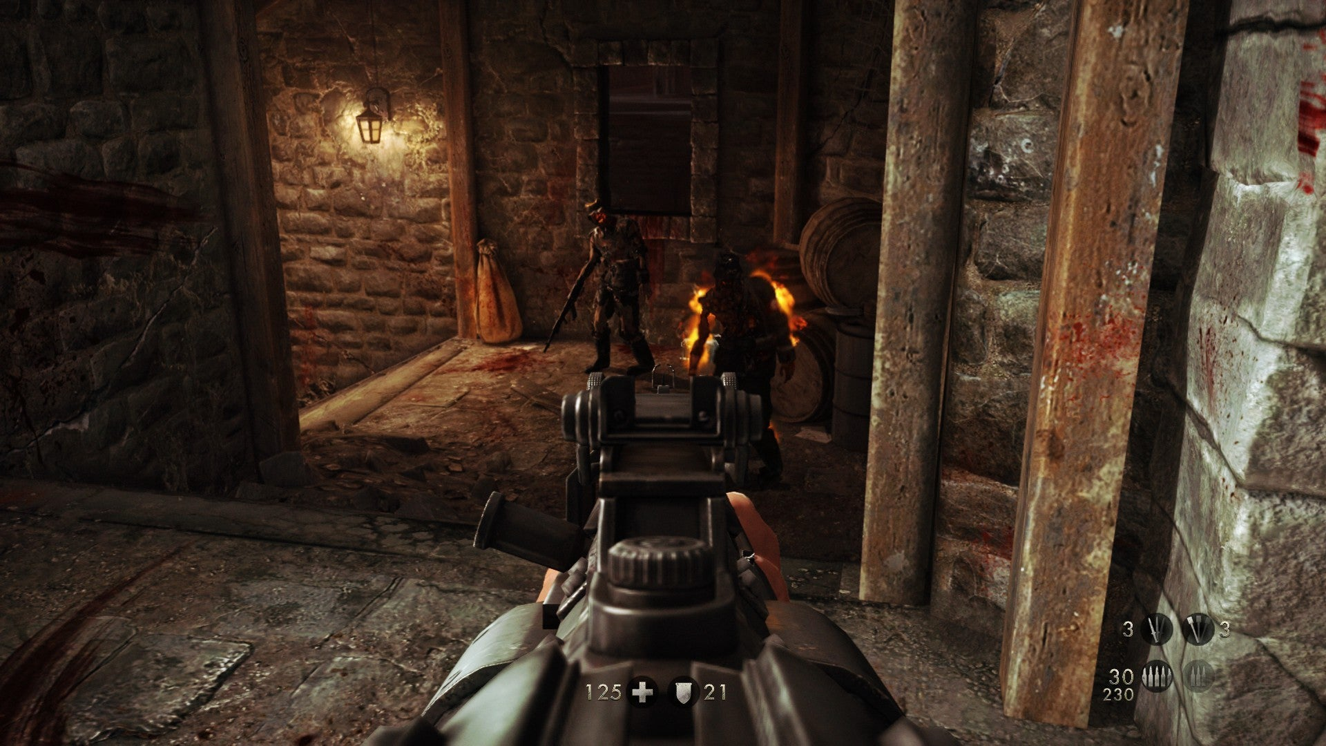 Wolfenstein The Old Blood Review More Old School Than New Order