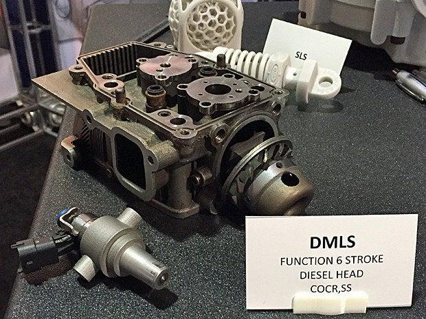 3d diesel head