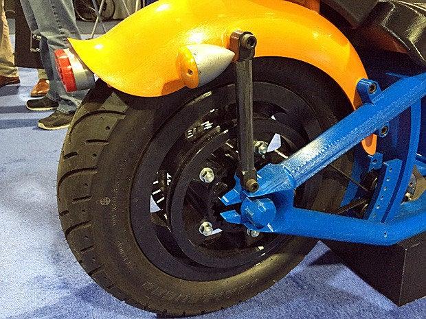 3d motorcycle wheel