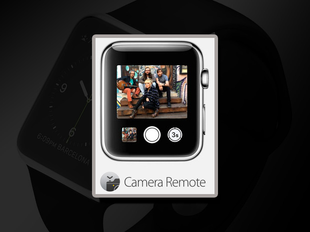 5 apple camera remote